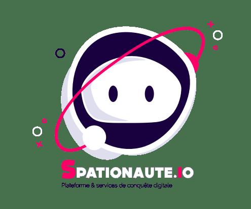 LOGO SPATIONAUTE agence web et agence digitale